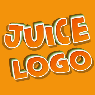 Create bright juicy lettering with juice effect